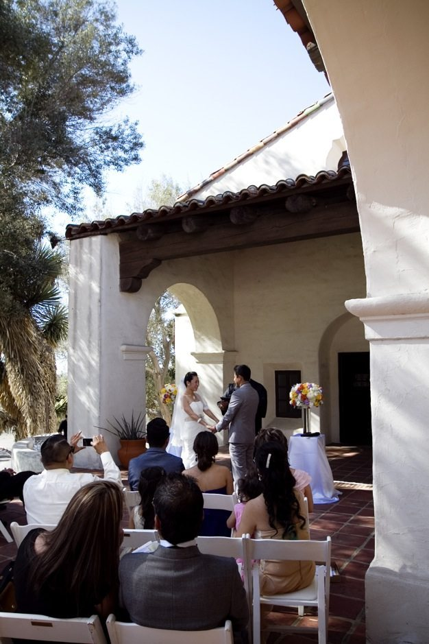 San Diego wedding catering caterers Eco Caters organic catering southern california wedding venue location wedding photographs beautiful outdoor wedding Junipero Museum San Diego are sustainable wedding Eco Caters - 04
