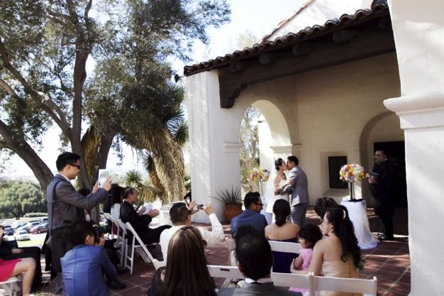 San Diego wedding catering caterers Eco Caters organic catering southern california wedding venue location wedding photographs beautiful outdoor wedding Junipero Museum San Diego are sustainable wedding Eco Caters - 05
