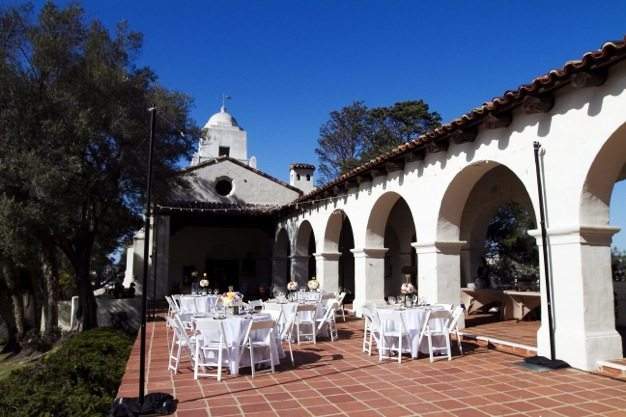San Diego wedding catering caterers Eco Caters organic catering southern california wedding venue location wedding photographs beautiful outdoor wedding Junipero Museum San Diego are sustainable wedding Eco Caters - 15