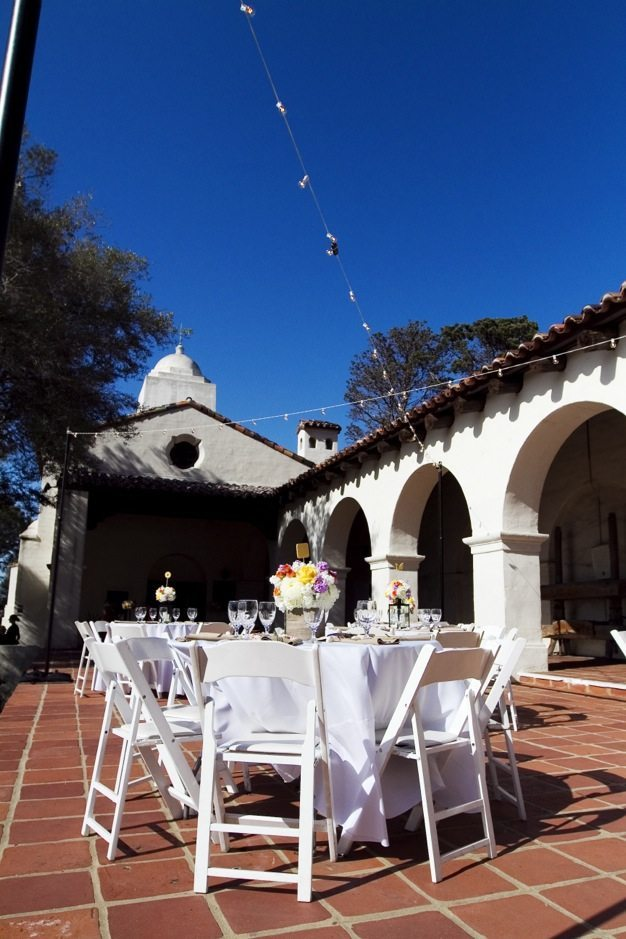San Diego wedding catering caterers Eco Caters organic catering southern california wedding venue location wedding photographs beautiful outdoor wedding Junipero Museum San Diego are sustainable wedding Eco Caters - 16