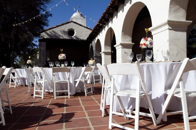 San Diego wedding catering caterers Eco Caters organic catering southern california wedding venue location wedding photographs beautiful outdoor wedding Junipero Museum San Diego are sustainable wedding Eco Caters - 17