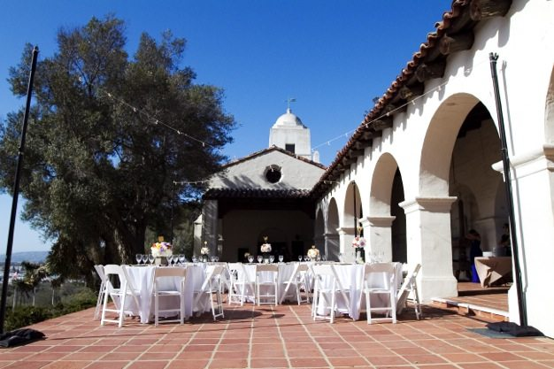 San Diego wedding catering caterers Eco Caters organic catering southern california wedding venue location wedding photographs beautiful outdoor wedding Junipero Museum San Diego are sustainable wedding Eco Caters - 20