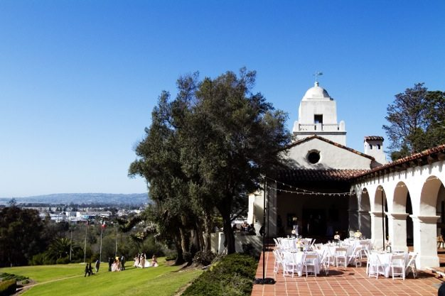 San Diego wedding catering caterers Eco Caters organic catering southern california wedding venue location wedding photographs beautiful outdoor wedding Junipero Museum San Diego are sustainable wedding Eco Caters - 22