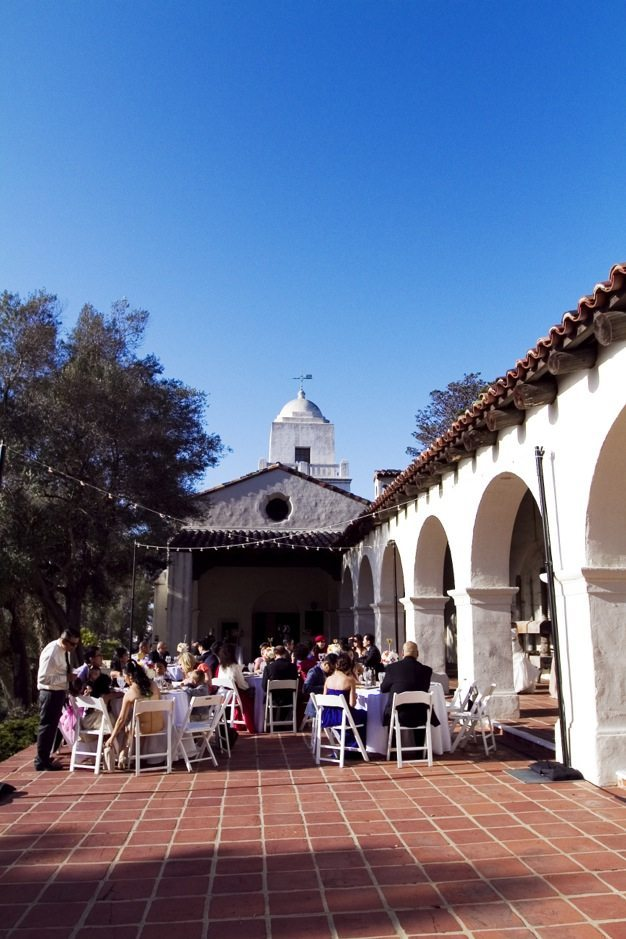 San Diego wedding catering caterers Eco Caters organic catering southern california wedding venue location wedding photographs beautiful outdoor wedding Junipero Museum San Diego are sustainable wedding Eco Caters - 60