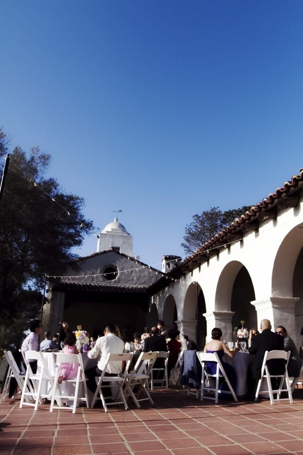San Diego wedding catering caterers Eco Caters organic catering southern california wedding venue location wedding photographs beautiful outdoor wedding Junipero Museum San Diego are sustainable wedding Eco Caters - 72