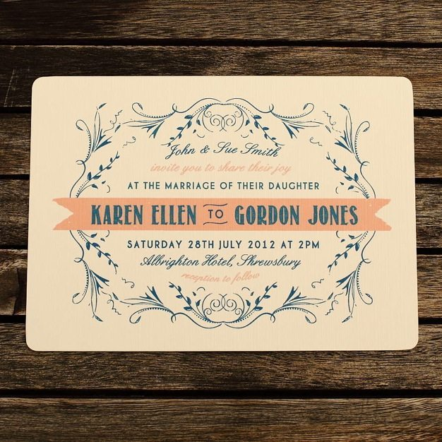 Vintage Wedding Invitation Ideas Washington Dc Catering