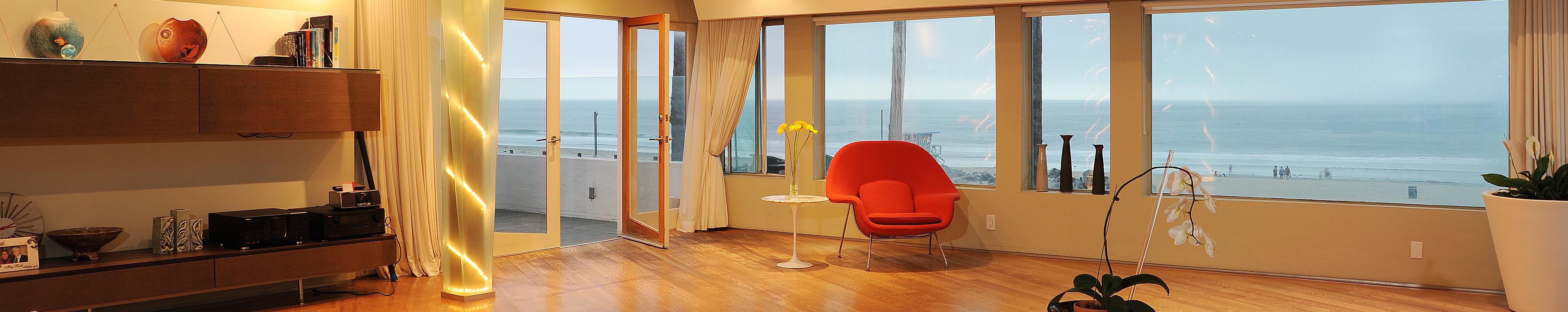 3111-Ocean-Front-Walk_PH-Living-Room-Ocean-View-Dusk-