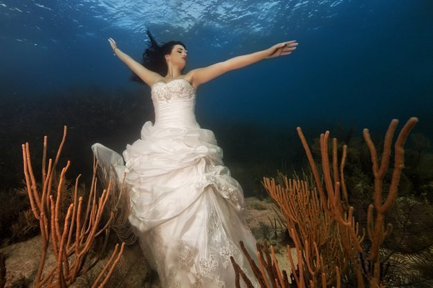 Best wedding photos under water wedding photos wedding photographer california beauitufl wedding dress - 08