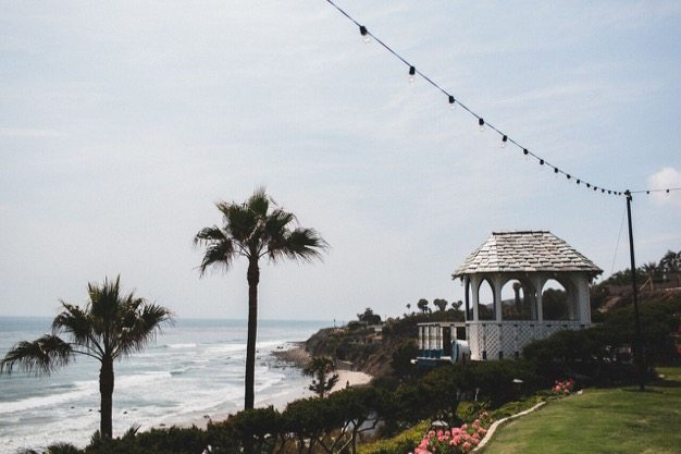 Cypress Sea Cove wedding venue Organic catering best Malibu catering fun wedding photos pacific wedding eco caters southern california wedding photographer wedding venue beach - 3 of 20