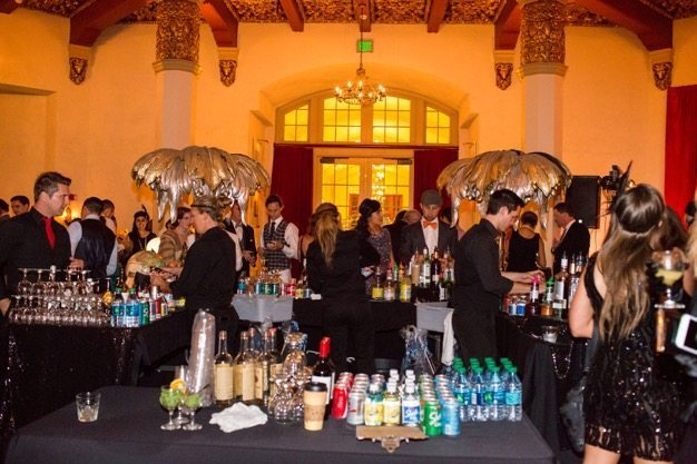 El Cortez Hotel San Diego Best San Diego catering Organic catering Eco Caters Great Gatsby party theme retro vintage party classy cocktail San Diego - 13 of 18