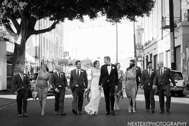 Millwick Wedding Los Angeles wedding venue eco catering best catering LA Wedding photos organic green wedding cute couple - 15 of 15
