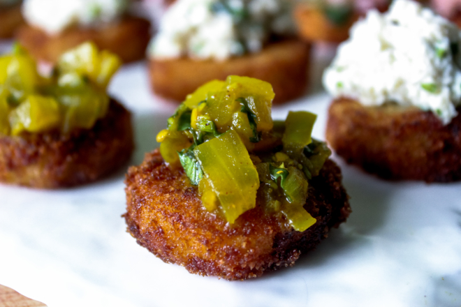 Fried-Green-Tomato-Rashidah-Denton-1-thegem-gallery-masonry san diego catering organic wedding catering