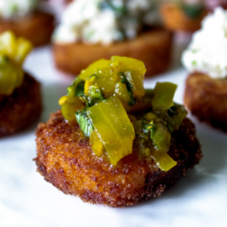 Fried-Green-Tomato-Rashidah-Denton-256x256 san diego catering organic wedding catering