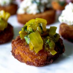 Fried-Green-Tomato-Rashidah-Denton-256x256 catering san diego wedding catering