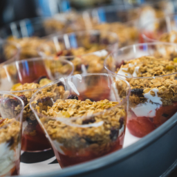 Granola-Set-Up-ElyseesEye-HamakerCt-256x256 san diego catering organic wedding catering