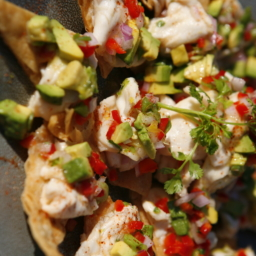 Shrimp-Avocado-on-Pita-Toasts-Close-Up-256x256 san diego catering organic wedding catering