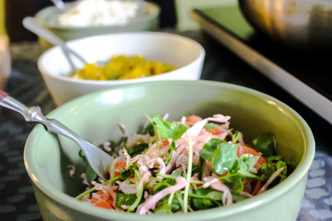 Toppings-for-Fried-Green-Tomato-Station-Rashidah-Denton-1-thegem-gallery-masonry catering san diego wedding catering