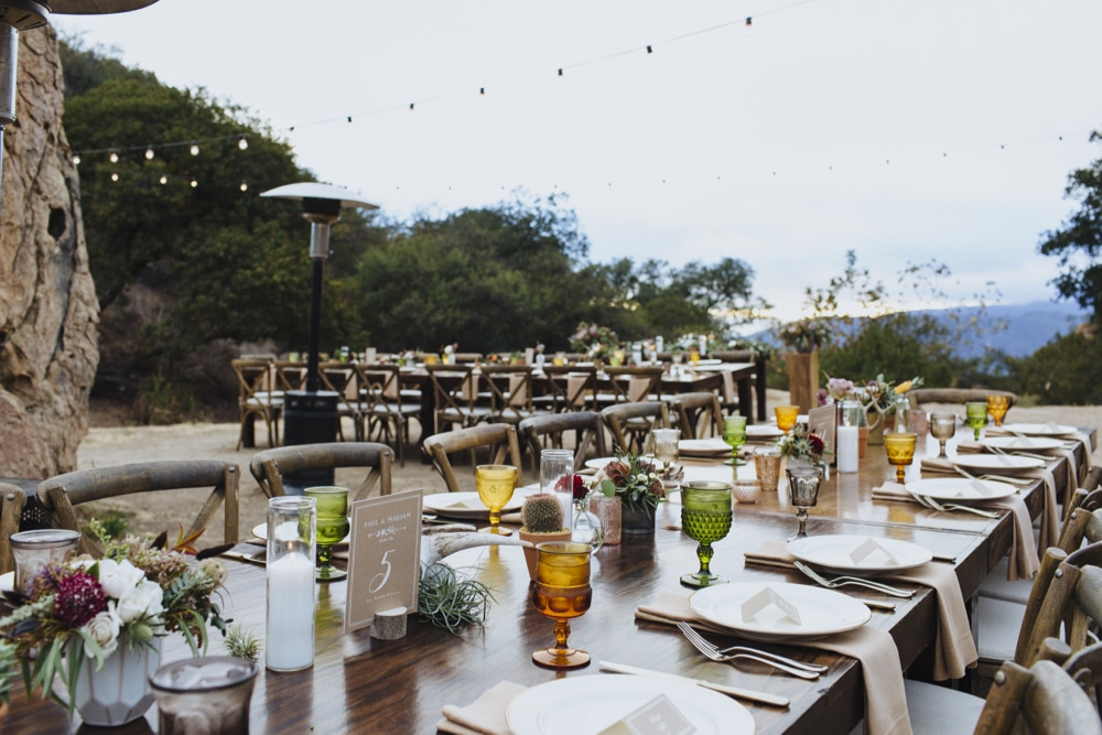 Wright Ranch Malibu Wedding Organic Catering Eco Caters