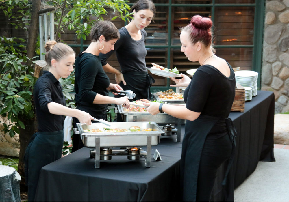 serving-la-wedding-eco-caters catering san diego wedding catering
